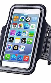 fodral Till Apple iPhone X iPhone 8 Vattenavvisande Armbindel Armband Ensfärgat Mjukt PC för iPhone X iPhone 8 Plus iPhone 8 iPhone 7