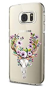 Custodia Per Samsung Galaxy S8 Plus S8 Transparente Fantasia/disegno Custodia posteriore Animali Fiore decorativo Morbido TPU per S8 S8