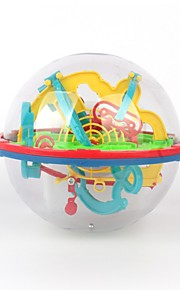 Bolas Brinquedo Educativo Jogos de Labirinto & Lógica Brinquedos de Lógica & Quebra-Cabeças Labirinto Brinquedos Brinquedos Redonda 3D