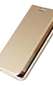 Custodia Per Samsung Galaxy S8 Plus S8 Porta-carte di credito Con supporto Con chiusura magnetica A calamita Integrale Tinta unica