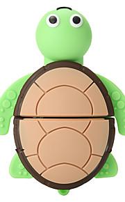 tegneserie skildpadde 16gb høj hastighed usb 2,0 flashdrev u diskhukommelsesdisk