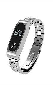 pulseira de metal para xiaomi mi banda 2 pulseira injetável inoxidável bracelete pulseira inteligente acessórios para miband 2 plus