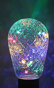 1pc ywxlight® e27 24led 7.0 4 farger ledet lysstrengpære baller for xmas fe ferie lys AC 85-265v