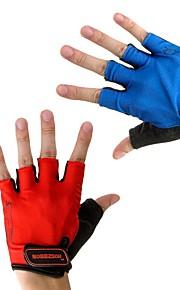 Sports Gloves Men's Women's Cycling Gloves Spring Summer Bike Gloves Breathable Fingerless Gloves Lycra Cycling Gloves/Bike Gloves