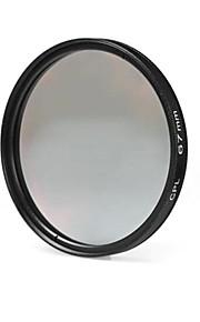 67mm cpl filterlins til Nikon Canon Sony DSLR kamera - sort