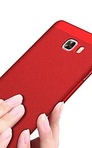 Funda Para Samsung Galaxy Congelada Cubierta Trasera Color sólido Dura Policarbonato para J7 Prime J7 (2016) J7 J5 Prime J5 (2016) J5 J3