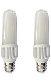 2pcs 18W E27 LED-kornpærer T 96 leds SMD 2835 Varm hvit Hvit 1460lm 3000/6000K AC 220-240V