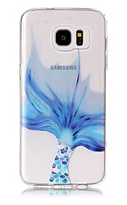 For Case Cover Transparent Pattern Back Cover Case Animal Soft TPU for Samsung Galaxy S8 Plus S8 S7 edge S7 S6 edge plus S6 edge S6 S6