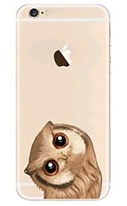 케이스 제품 Apple iPhone X iPhone 8 iPhone 8 Plus 울트라 씬 투명 패턴 뒷면 커버 부엉이 소프트 TPU 용 iPhone X iPhone 8 Plus iPhone 8 아이폰 7 플러스 아이폰 (7) iPhone 6s