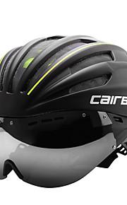 CAIRBULL Yetişkin Bisiklet kaskı 28 Delikler CE EN 1077 Bisiklet Tam Yüz Güneşlik PC EPS Yol Bisikletçiliği