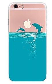 케이스 제품 Apple iPhone X iPhone 8 iPhone 8 Plus 울트라 씬 투명 패턴 뒷면 커버 동물 카툰 소프트 TPU 용 iPhone X iPhone 8 Plus iPhone 8 아이폰 7 플러스 아이폰 (7) iPhone