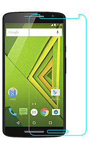 Tempered Glass Screen Protector for Motorola Moto X Play Front Screen Protector High Definition (HD) 9H Hardness 2.5D Curved edge