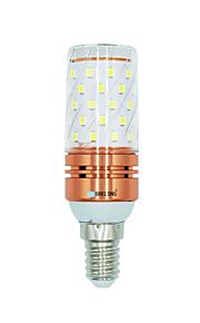 1 stk 12W E14 LED-kornpærer 60 leds SMD 2835 Varm hvit Hvit Dual Light Source Color 1000lm 3000-3500  6000-6500  3000-6500K AC 220-240V