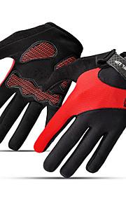 Sports Gloves Unisex Cycling Gloves Winter Bike Gloves Keep Warm Full-finger Gloves Mesh Cotton Winter Gloves