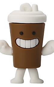 silikon kaffekopp höghastighets stötskyddad 32 GB USB 2.0 flash-enhet u diskminneskiva