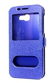 Custodia Per Samsung Galaxy J5 Prime A portafoglio Con supporto Con sportello visore Con chiusura magnetica Integrale Tinta unica