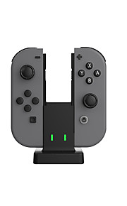 Switch USB Batterier och Laddare för Nintendo Switch 25 Uppladdningsbar Trådbunden > 480