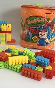 GDS-set Byggklossar Leksaker Elefant Djur Tecknat tecknad Shaped Djur Form Djur Familj Djur Handväskor Tecknade leksaker GDS (Gör det