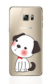 Кейс для Назначение SSamsung Galaxy S8 Plus S8 С узором Задняя крышка С собакой Мягкий TPU для S8 S8 Plus S7 edge S7 S6 edge plus S6 edge