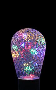 ywxlight® e27 1w 16led 6,0 rgb ledet lysstrengpære baller for ferie dekorasjon ac 85-265v