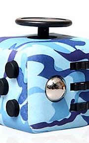 Fidget-legetøj til skrivebordet Fidget-kube Legetøj Kvadrat Stress og angst relief Focus Toy Lindrer ADD, ADHD, angst, autisme Kontor