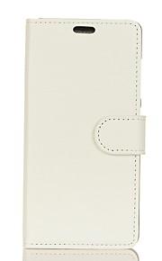 Кейс для Назначение SSamsung Galaxy Note 8 Кошелек Бумажник для карт Флип Чехол Сплошной цвет Твердый Искусственная кожа для Note 8 Note 5