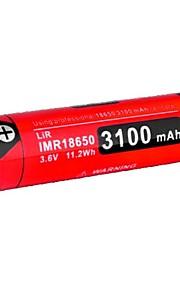 KLARUS 18GT-IMR31 batteri Bærbar Professionel Nemt at bære Høj kvalitet Letvægt for 18650 Li-ion