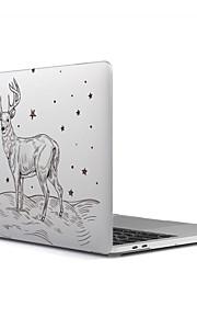 """Capa para MacBook para Áspero Natal Plástico Material Para o Novo MackBook Pro 15"""" Para o Novo MackBook Pro 13"""" MacBook Pro 15 Polegadas"""