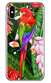 Custodia Per Apple iPhone X iPhone 8 Plus Fantasia/disegno Custodia posteriore Animali Morbido TPU per iPhone X iPhone 8 Plus iPhone 8
