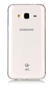 Kılıf Na Samsung Galaxy J3 (2017) J3 (2016) Ultra cienkie Przezroczyste Czarne etui Przezroczysty/a Miękkie TPU na J7 (2017) J7 (2016) J5