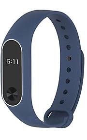pulseira de fita de relógio de borracha preto cinza marinha 25cm / 9.84 polegadas 1cm / 0.39 inches
