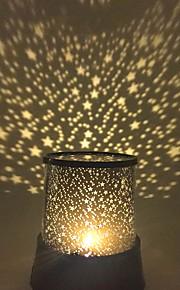 Stjernehimmel Stjernelampe LED-belysning Projektorlampe Natbordslampe Legetøj Stjerne Galakse Plast Pige Drenge 1 Stk.