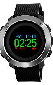 SKMEI Homens Digital Único Criativo relógio Relógio de Pulso Relógio Esportivo Japanês Alarme Calendário Cronógrafo Impermeável