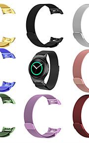 Klockarmband för Gear S2 Samsung Galaxy Handledsrem Milanesisk loop