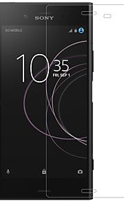 Screen Protector for Sony Sony Xperia XZ1 Tempered Glass 1 pc Front Screen Protector High Definition (HD) 9H Hardness 2.5D Curved edge