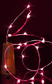 Brelong 1,5m 15led vinflaske kopperstreng lys til jul halloween fest dekorasjoner