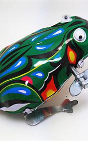 Brinquedos de Corda Brinquedos Sapo Animais Vintage Retro Peças Dom