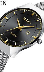 Homens Relógio Casual Relógio de Moda Relógio de Pulso Chinês Quartzo Calendário Impermeável Aço Inoxidável Banda Luxo Vintage Casual
