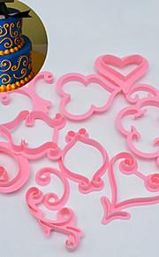 Dessert Dekorateure Neuheit Kuchen Kunststoff Farbe