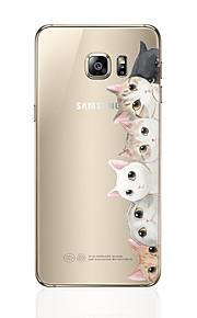 מגן עבור Samsung Galaxy S8 Plus S8 תבנית כיסוי אחורי חתול רך TPU ל S8 Plus S8 S7 edge S7 S6 edge plus S6 edge S6