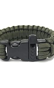 Survival Bracelet Camping / Hiking Camping / Hiking / Caving Outdoor Nylon fiber 1 pcs