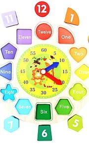 Educatief speelgoed Speeltjes Vlak Cirkelvorm Dier School Kinderen Nieuw Design Stuks