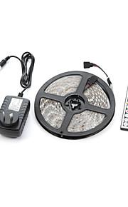 300 lysdioder RGB Fjärrkontroll Klippbar Bimbar Vattentät Kopplingsbar Lämplig för fordon Självhäftande Färgskiftande AC 100-240V V
