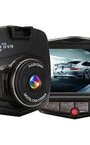 M001 HD 1280 x 720 / 1080p Automobile DVR 120 Gradi / 140 Gradi Angolo ampio 2.4inch LCD Dash Cam con Bilanciamento del bianco /