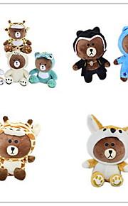 Orso Con animale giocattoli farciti Bambini Vacanza Animali Casual