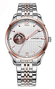 Homens Mulheres Relógio de Pulso Relógio de Moda Relógio Elegante Suíço Quartzo Calendário Cronógrafo Impermeável Noctilucente Relógio