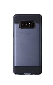hoesje Voor Samsung Galaxy Note 8 Note 5 Schokbestendig Volledige behuizing Effen Kleur Hard TPU voor Note 8 Note 5 Note 4