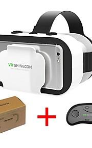 vr shinecon 5.0 glas virtuell verklighet vr box 3d glasögon för 4,7 - 6,0 tums telefon med kontroller