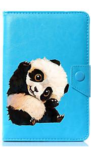 caja universal de la cubierta del soporte del cuero de la PU del panda para 7 pulgadas 8 pulgadas 9 pulgadas tableta de la pulgada 10