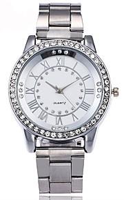 Mulheres Quartzo Relógio de Moda Relógio Casual Chinês Cronógrafo Impermeável Relógio Casual Aço Inoxidável Banda Casual Minimalista